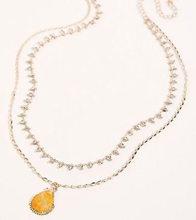 Free People Shell Necklace