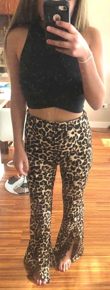 Boohoo Cheetah Pants
