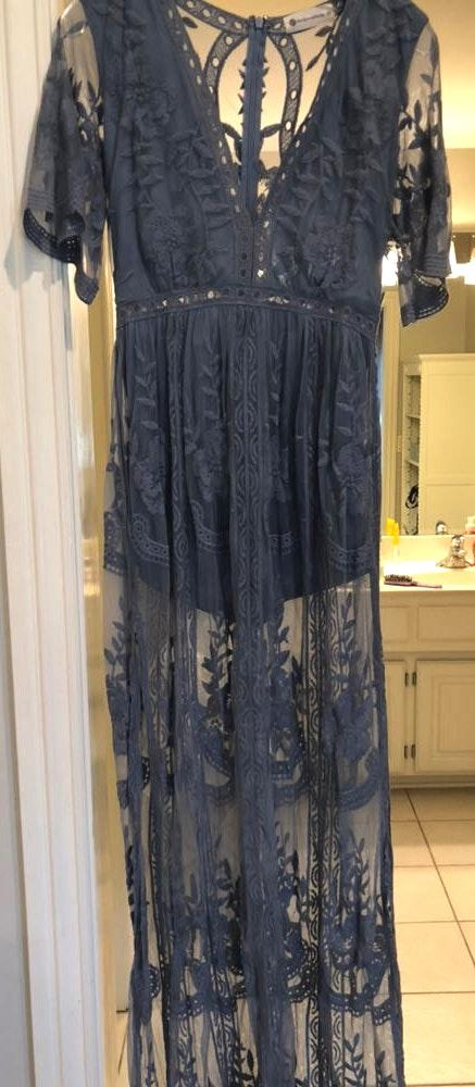 Impeccable Pig Maxi Lace Dress