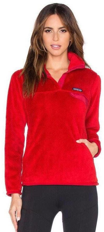 Patagonia Red Snap-T Pullover