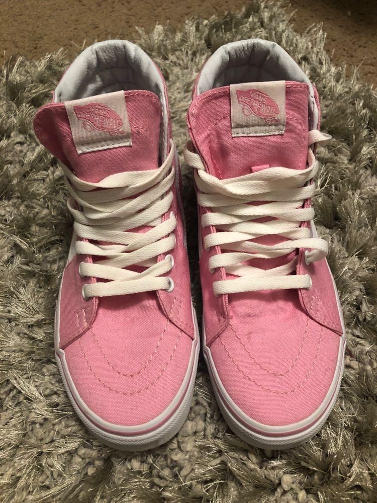 Vans Pink sk8 high
