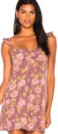 Flynn Skye Floral Clara Mini Dress