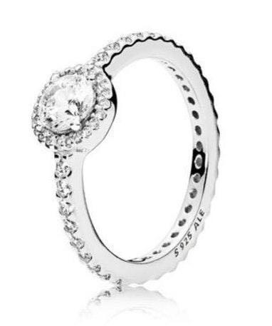 Pandora elegance ring:size 7