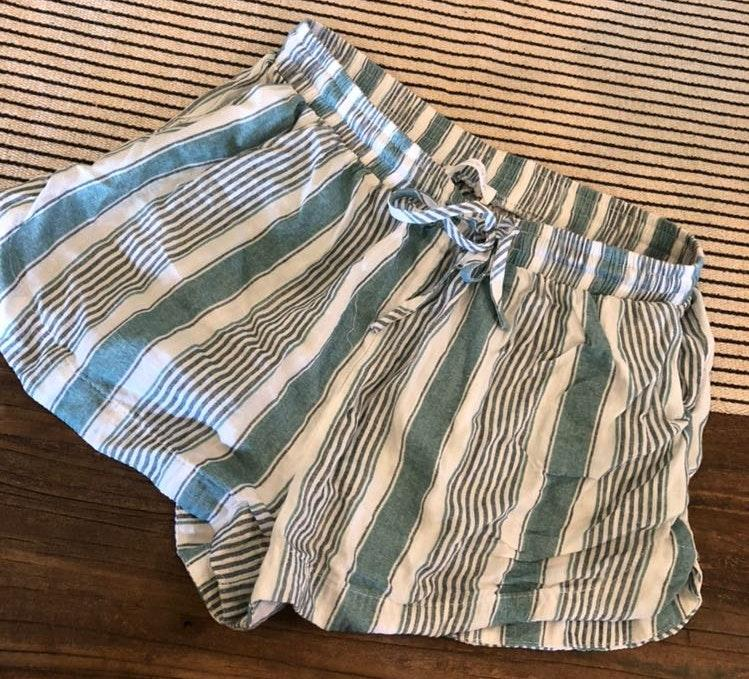 Blues + Greys Boutique Striped Shorts