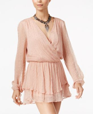 Free People Pink Mini Dress