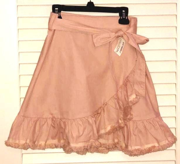 The Impeccable Pig Blush Pink Wrap Skirt