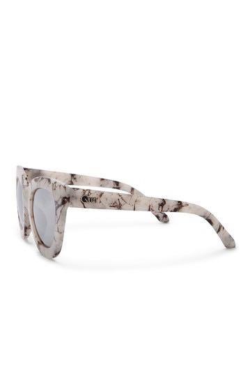 Quay Australia Sugar And Spice Marble Sunglasses