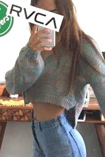 Wild Honey Cropped sweater