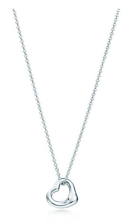 Tiffany & Co. Elsa Peretti® open heart necklace
