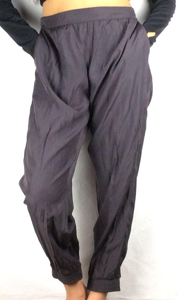Hive and Honey Gray Flowy Joggers with POCKETS