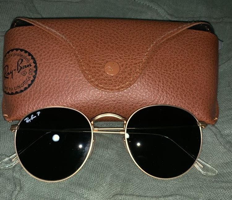 Ray-Ban Round Sunnies (Polarized)