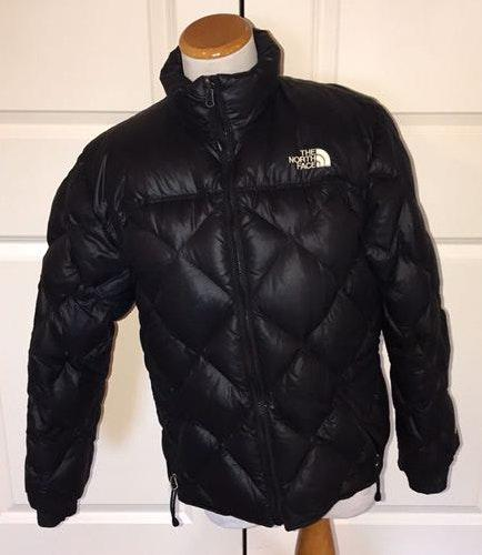 The North Face Black White Puffer Jacket