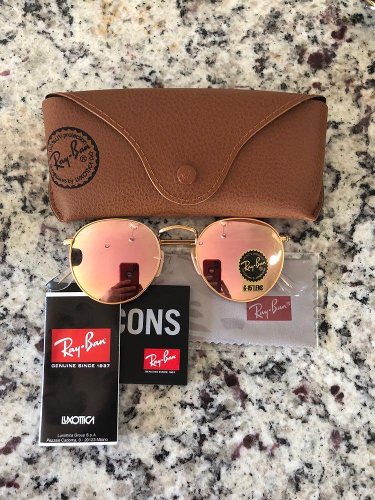 Ray-Ban Rayban Sunglasses Cooper Pink Size 50mm