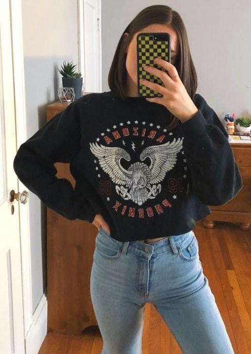 Missguided Cropped Arizona Sweater