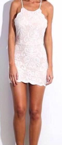 Hello Molly Bedroom Whispers Ivory Dress