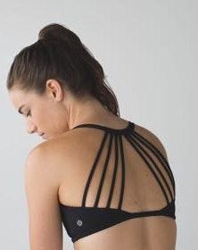 Lululemon NWT Charcoal Lighten Up Sports Bra