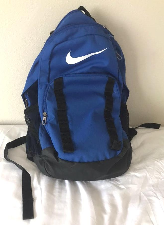 Nike Large Blue Backpack