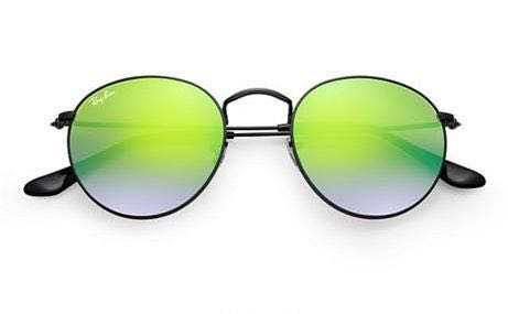 Ray-Ban Round Flash  Sunglasses