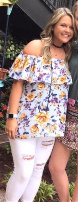 Umgee Floral Off The Shoulder Shirt
