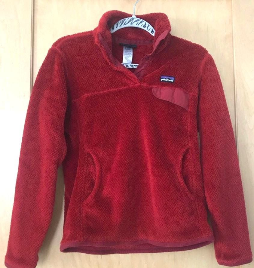 Patagonia Bright Red Pullover