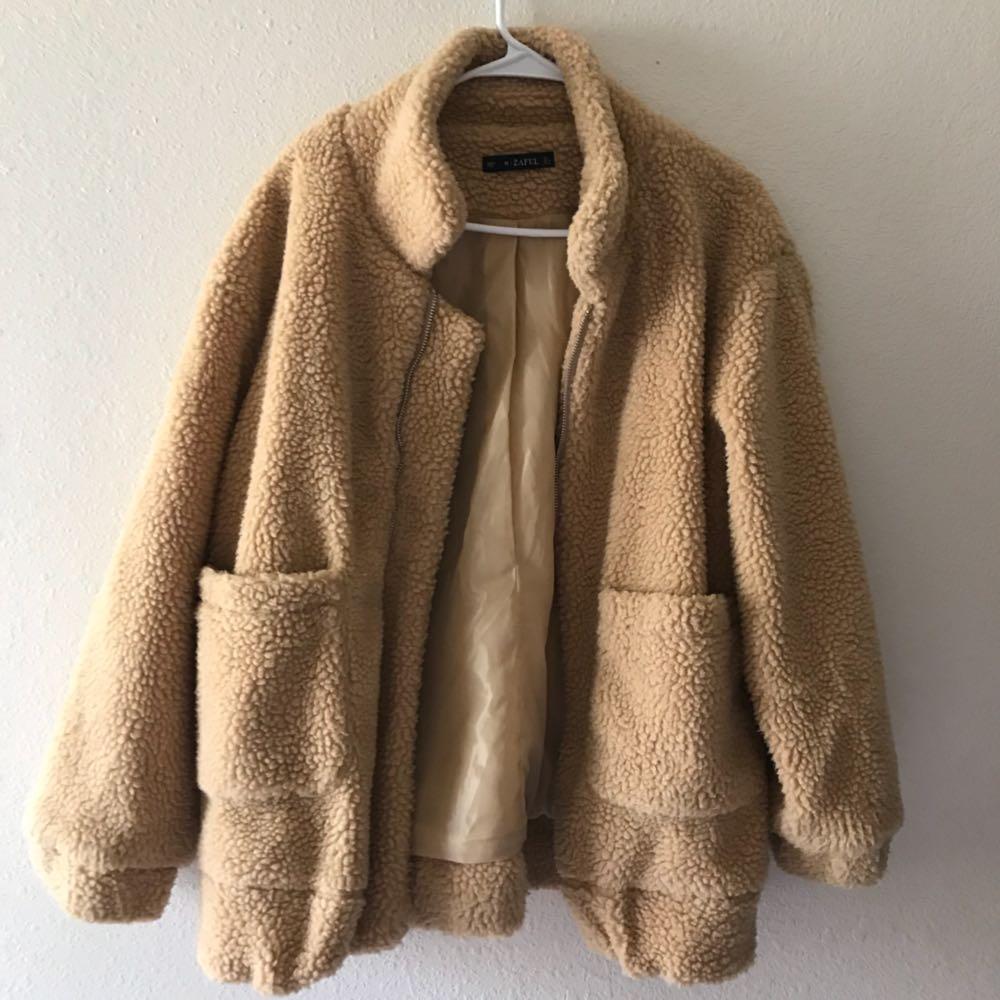Zaful Teddy bear Jacket