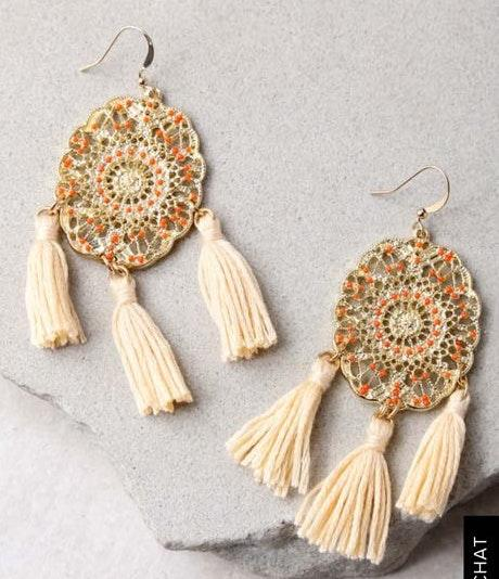 Lulus Fringe Earrings