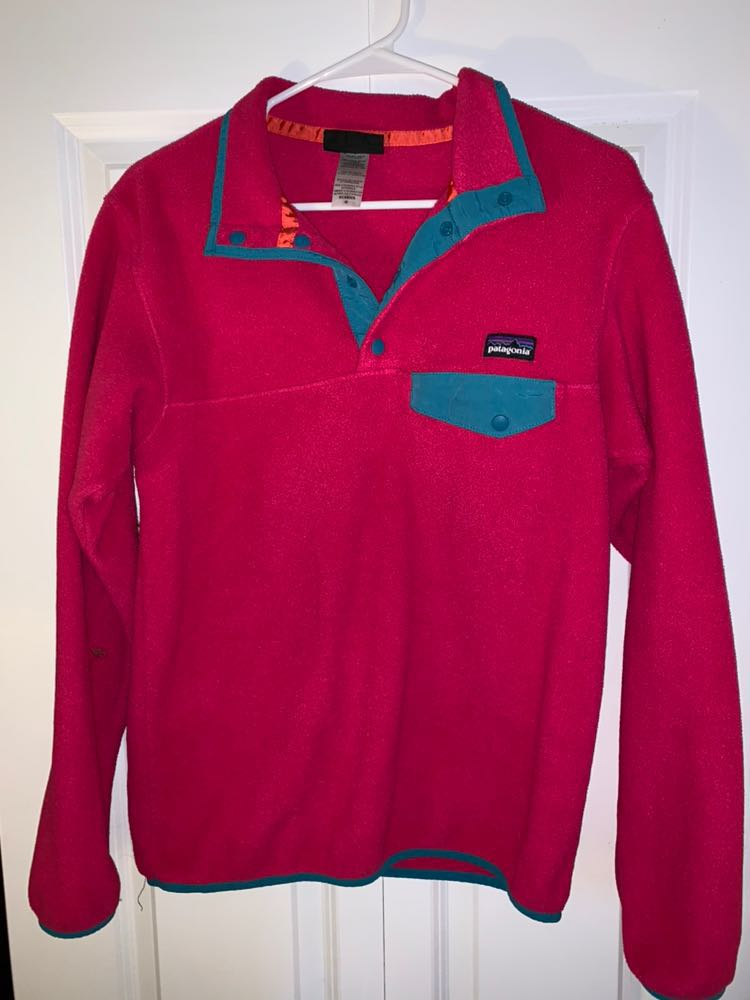 Patagonia Pink  Synchilla Pullover