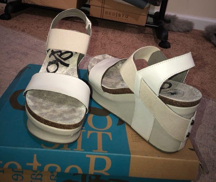 OTBT Light Grey  Wedges