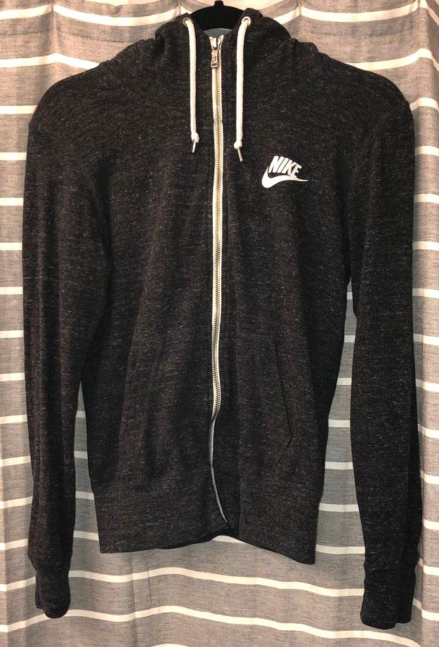 Nike long sleeve zip-up jacket