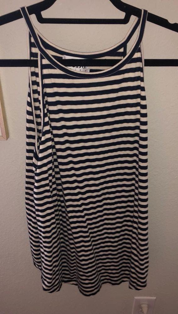 Sabo Skirt striped Tank Top