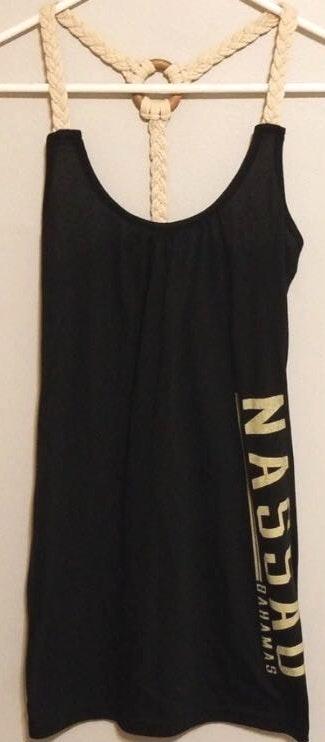 A'Gaci Strappy Braided Mini Dress