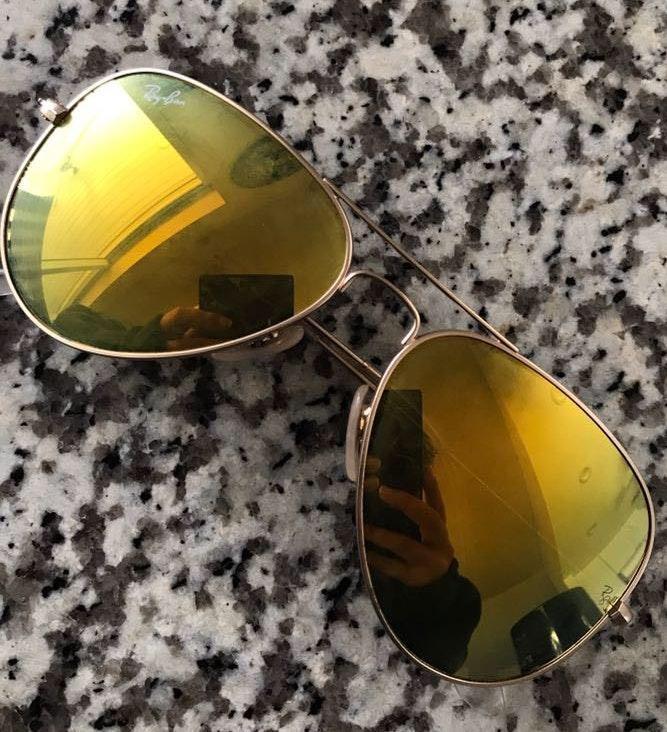 Ray-Ban Yellow Ray Ban Sunglasses