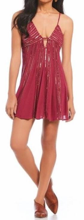 """Free People NEVER WORN S  """"Here She Is"""" Slip Dress"""
