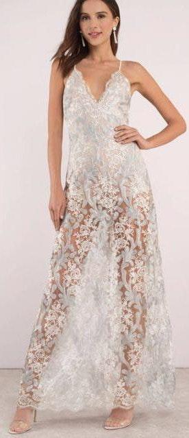 L'ATISTE L'ATISTE Formal Lace Dress