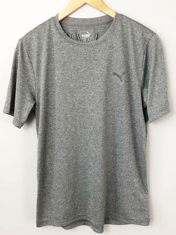 Puma Gray  Athletic Workout Shirt