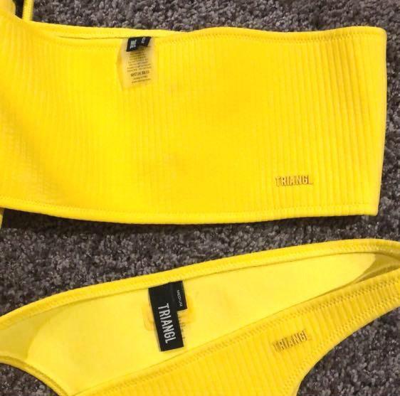 Triangl Yellow  Bikini