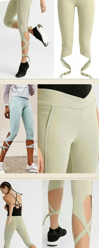 Free People Movement Tie Ankle Legging
