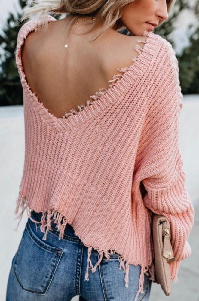 VICI Distressed Sweater