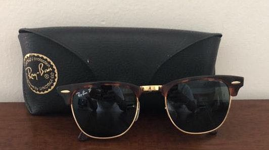 Ray-Ban Tortoise Trim Sunglasses