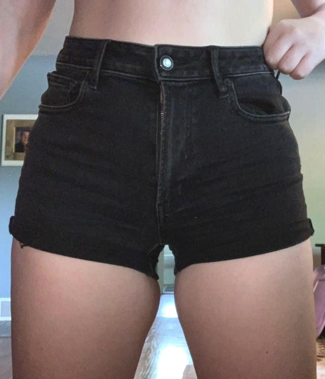 American Eagle Outfitters High Rise Shortie