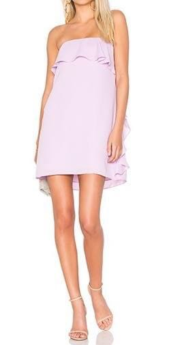 Revolve tally dress in electric lilac