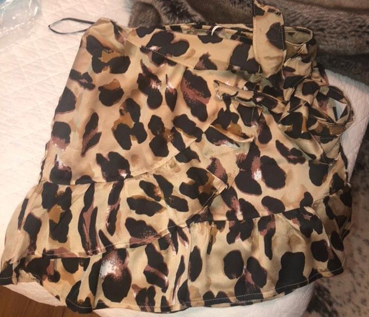 Princess Polly Cheetah Skirt