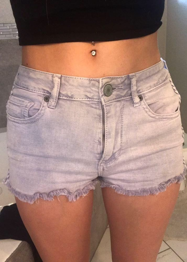 Kendall & Kylie Lavender  Shorts