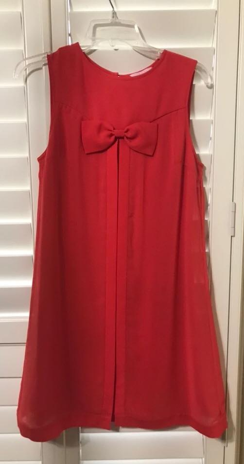 Ted Baker Red petite dress