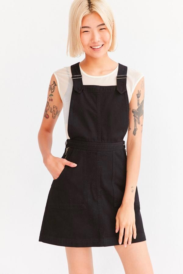 Urban Outfitters BDG Black Denim Jumper