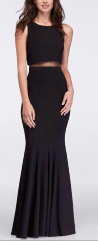 be291a331f7b Von Maur Cutout Black Formal Dress | Curtsy