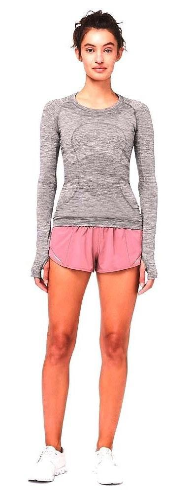 Lululemon Gray Long Sleeve  Swiftly