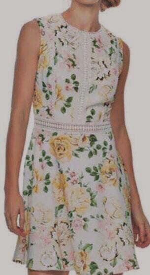 Kohls Yellow Floral Dress