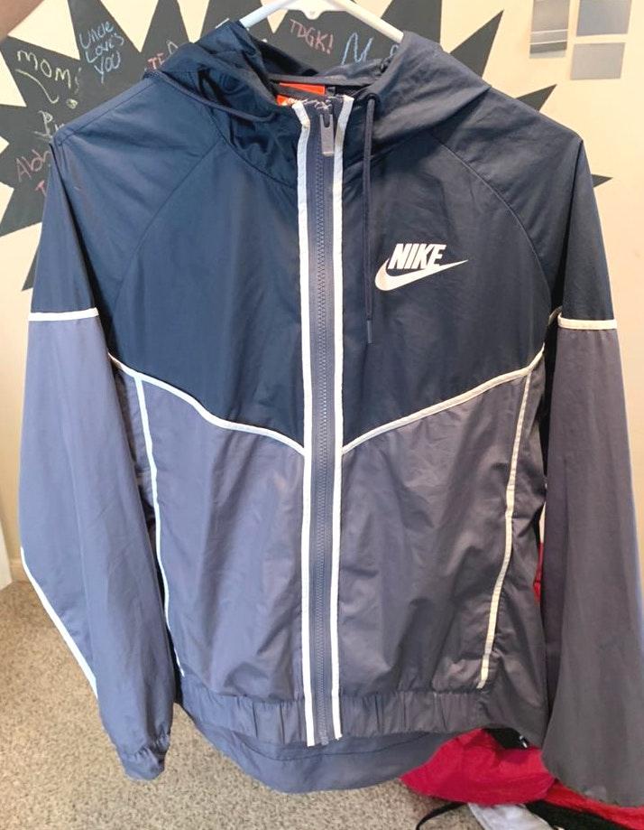 Nike Blue  Windbreaker