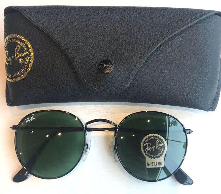 Ray-Ban Ray Ban 3447 Round Dark Green Sunglasses